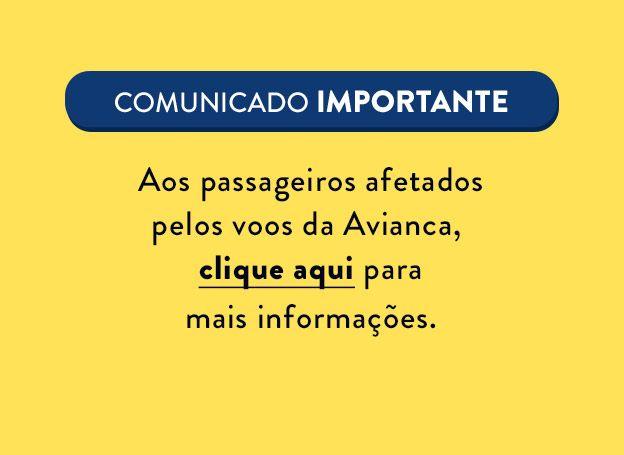 Comunicado Avianca